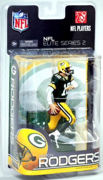 McFarlane Toys NFL Green Bay Packers 2011 Elite Series 2 Aaron Rodgers Action Figure MFBE2FBGBAAR