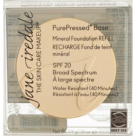 - Jane Iredale PurePressed Base Mineral Foundation SPF 20, Bisque 0.35 oz