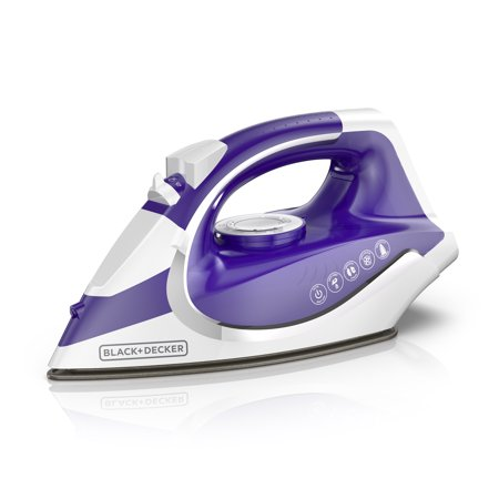 BLACK+DECKER CORDLESS Light 'N Go Iron, Purple, ICL500
