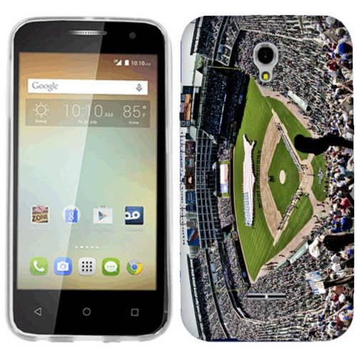 Mundaze Baseball Game Phone Case Cover for Alcatel OneTouch Elevate