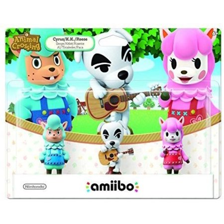 Animal Crossing Amiibo 3 Pack  Universal