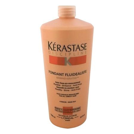 Kerastase Leave In Conditioner (Kerastase Discipline Fondant Fluidealiste Smooth-In-Motion Conditioner, 34 Oz)