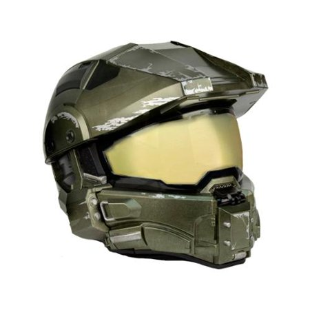 Halo Master Chief Motorcycle Helmet | XL