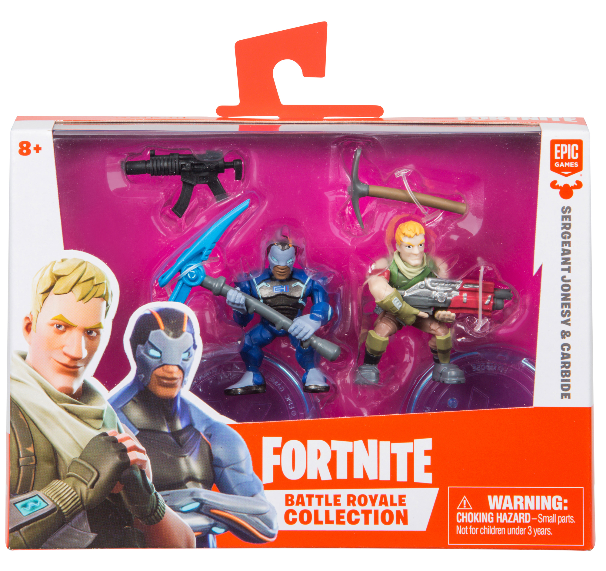 Fortnite Battle Royale Collection Duo Pack Carbide Sergeant