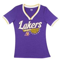 Product Image Los Angeles Lakers Women s NBA Short Sleeve Biblend V Notch  Scoop Neck Tee c63a94f9b