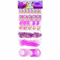 Disney Princess Mega Plastic Birthday Party Favors 100 Piece Variety Pack
