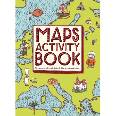 Maps Activity Book (Me On The Map Activities)