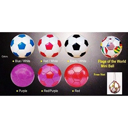 UTA Classic Soccer Ball, Size 2, Red Select Classic Soccer Balls
