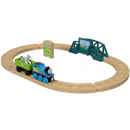 Thomas & Friends Wood Animal Park Train Track Set with