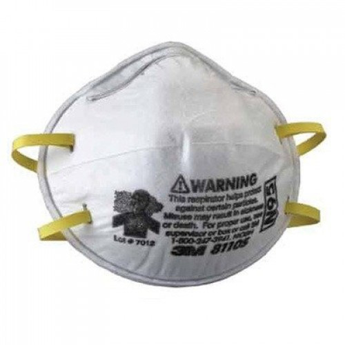3M-Commercial Tape Div 8110S N95 Particulate Respirator, Half Facepiece Small by 3M