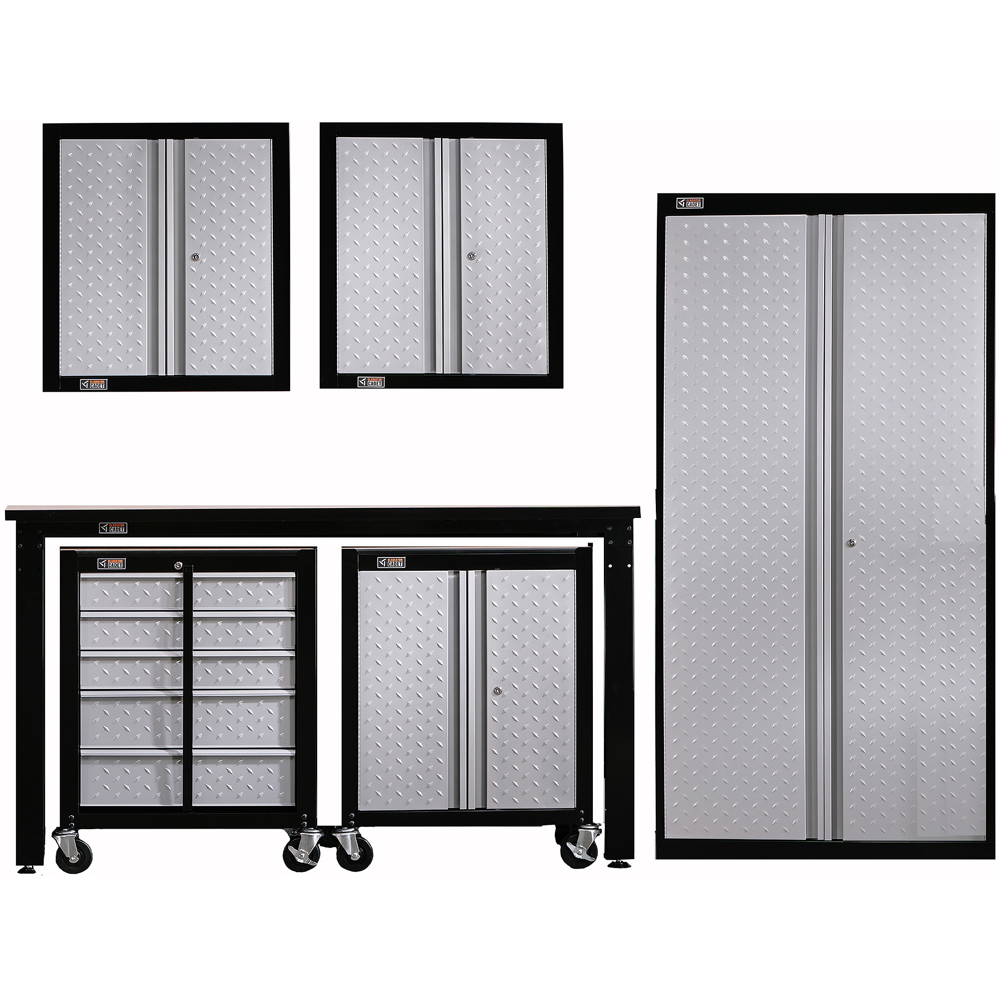 Gallery Of Gladiator Mobile Storage Cabinet