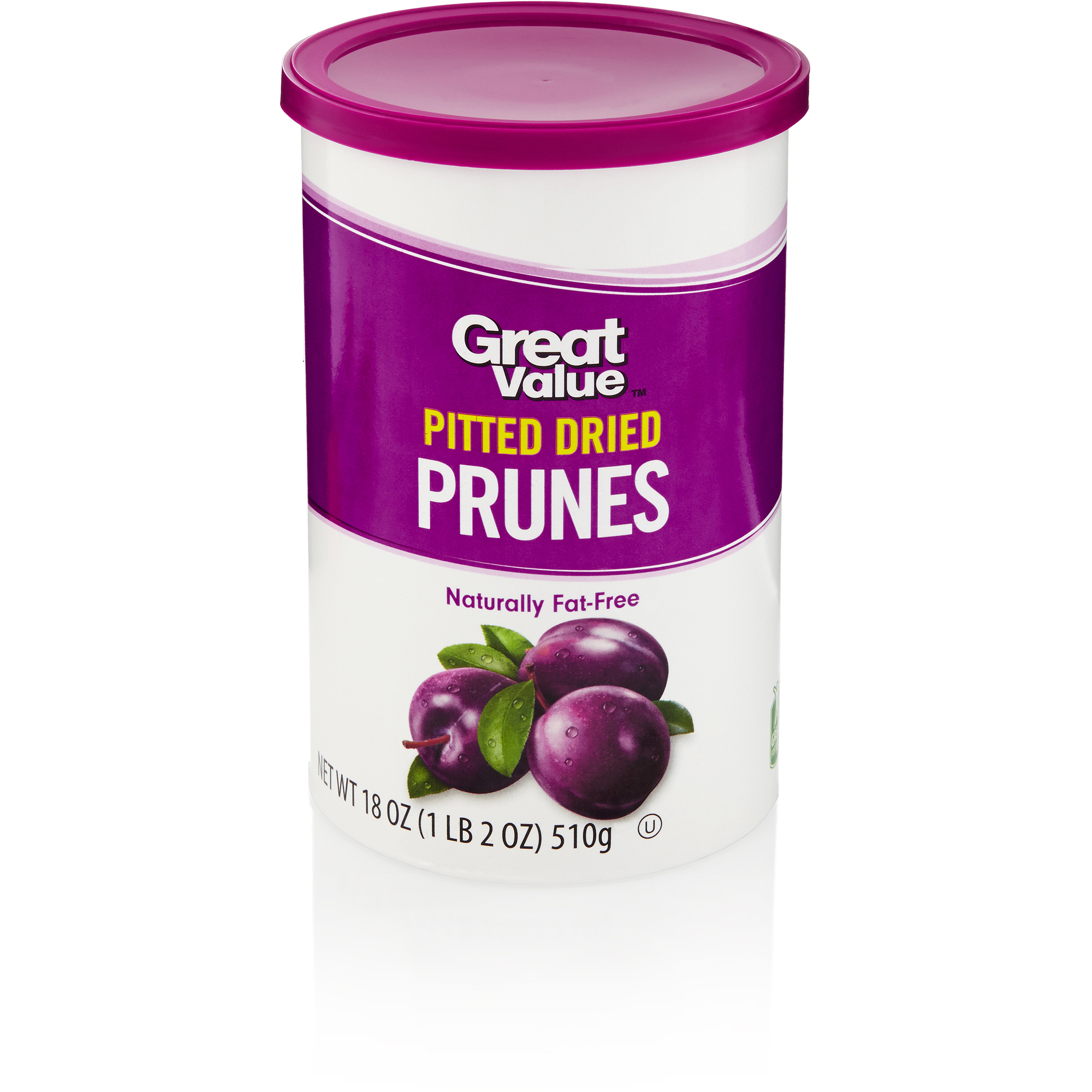 Great Value: Pitted Prunes, 18 Oz