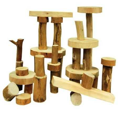 Tree Blocks   36 Pc  Set   One Of A Kind
