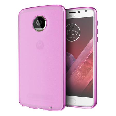 the best attitude e12cf c484f Moto Z2 Play Case, Cimo [Matte] Premium Slim Protective Cover for Motorola  Moto Z2 Play - Pink