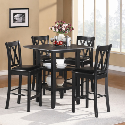 woodhaven hill norman 5 piece counter height dining set