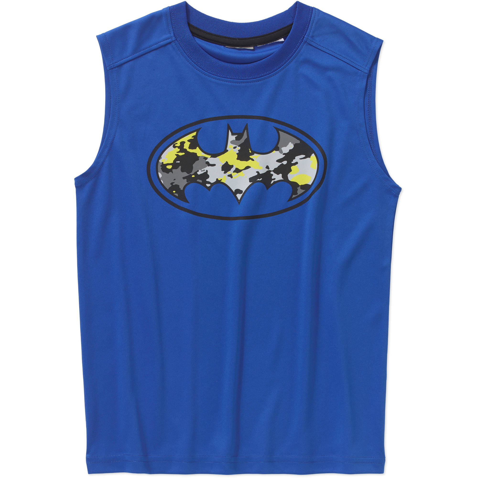DC Comics Batman Boys' Poly Muscle Top