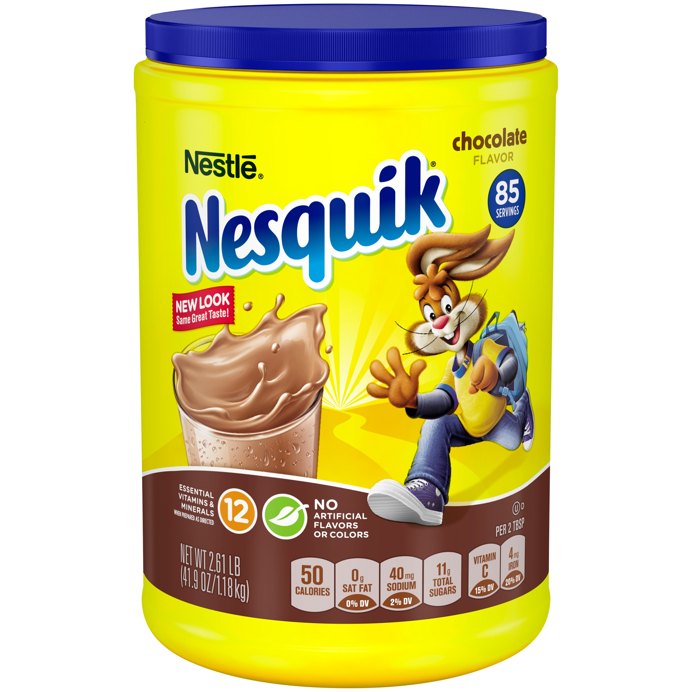 NESQUIK Chocolate Powder 2.61 lb. Canister
