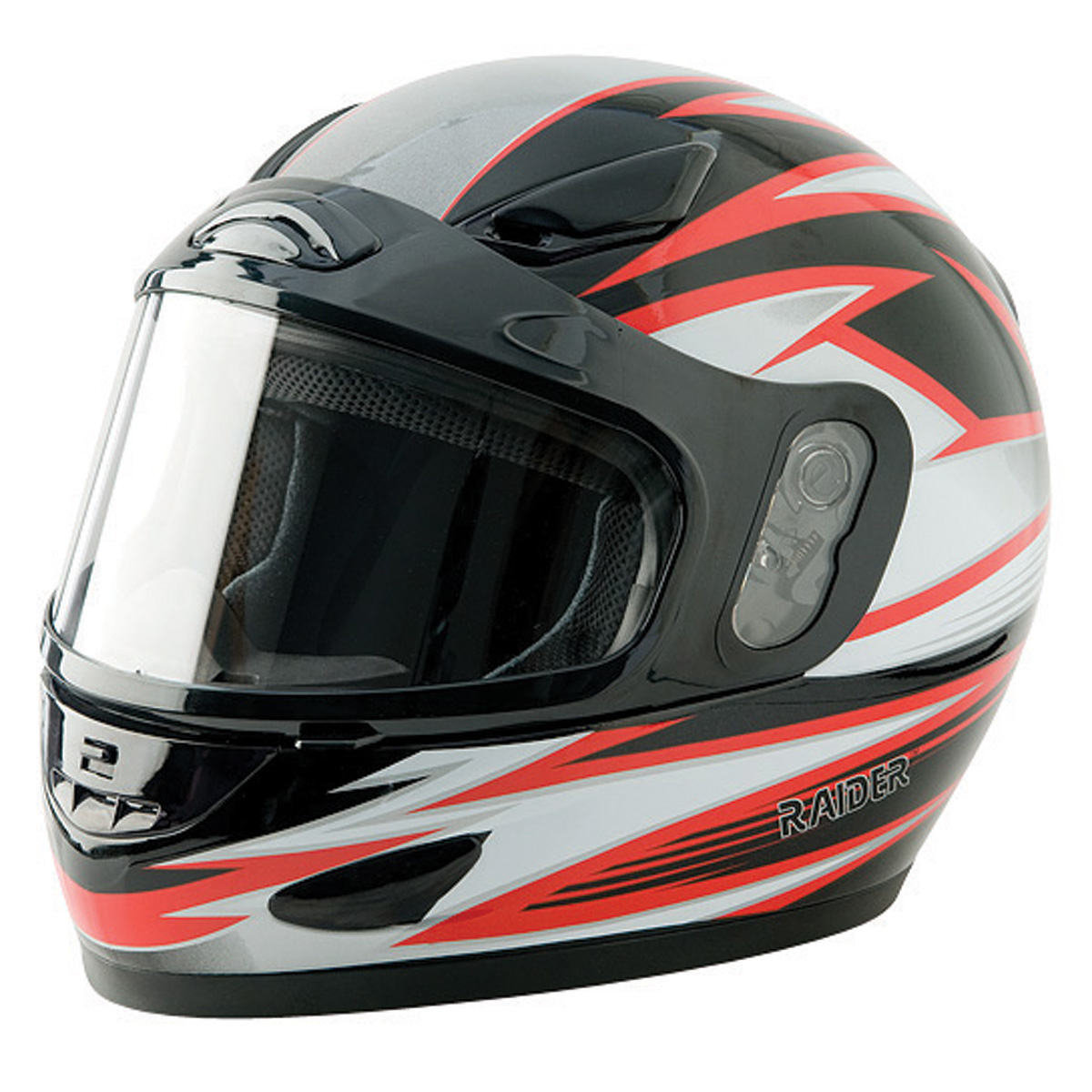 Raider Full Face Snowmobile Helmet Dual Pane Shield Breat...