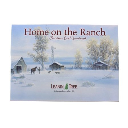 Camping Christmas Cards.Home On The Ranch 20 Christmas Card Assortment Ast90298 Leanin Tree Home On The Ranch 20 Christmas Card Assortment Ast90298 By Leanin Tree Usa