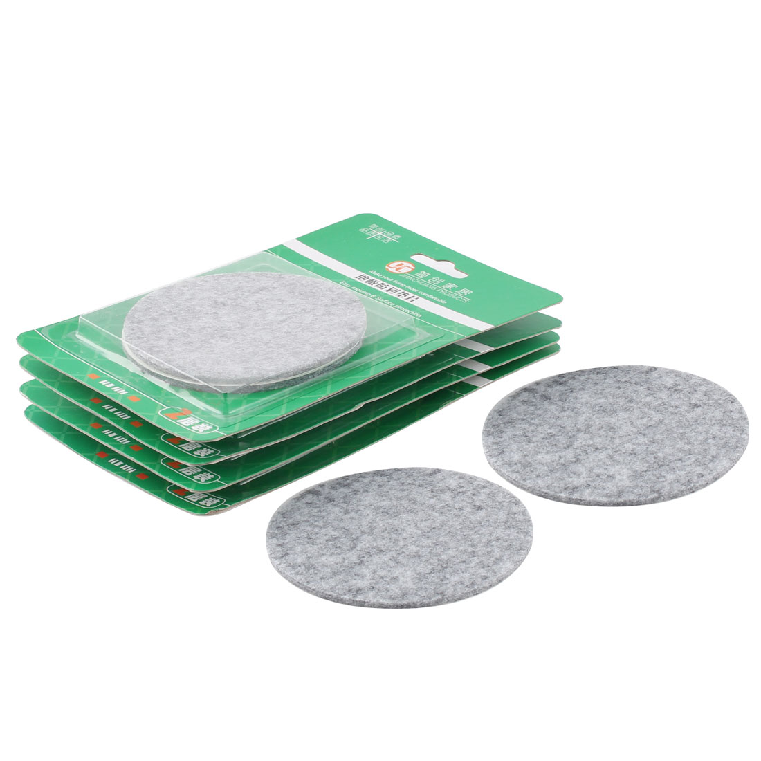 Felt pads for cabinet