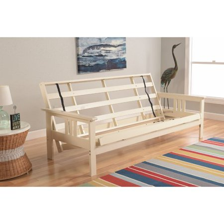 Kodiak Monterey Futon Frame In Antique White Finish