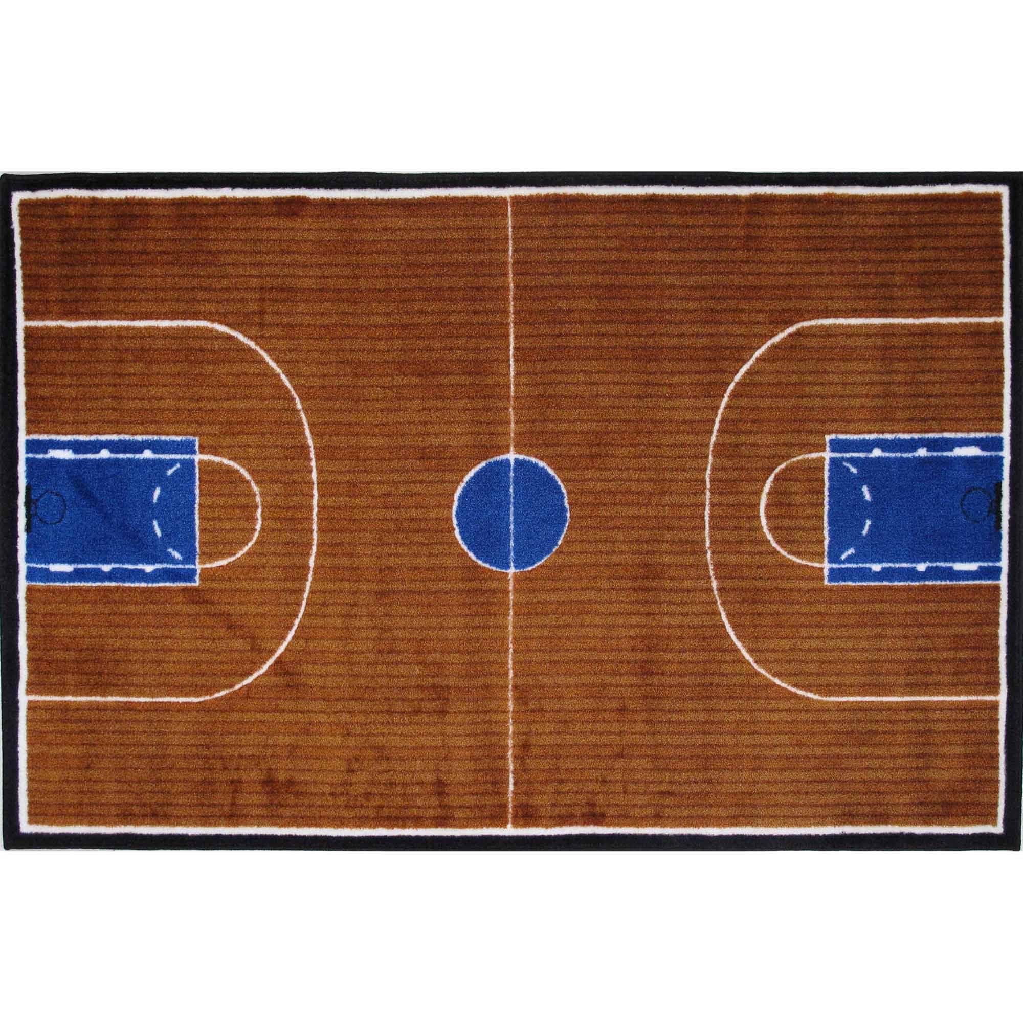 Fun Rugs Basketball Court Kids Rugs
