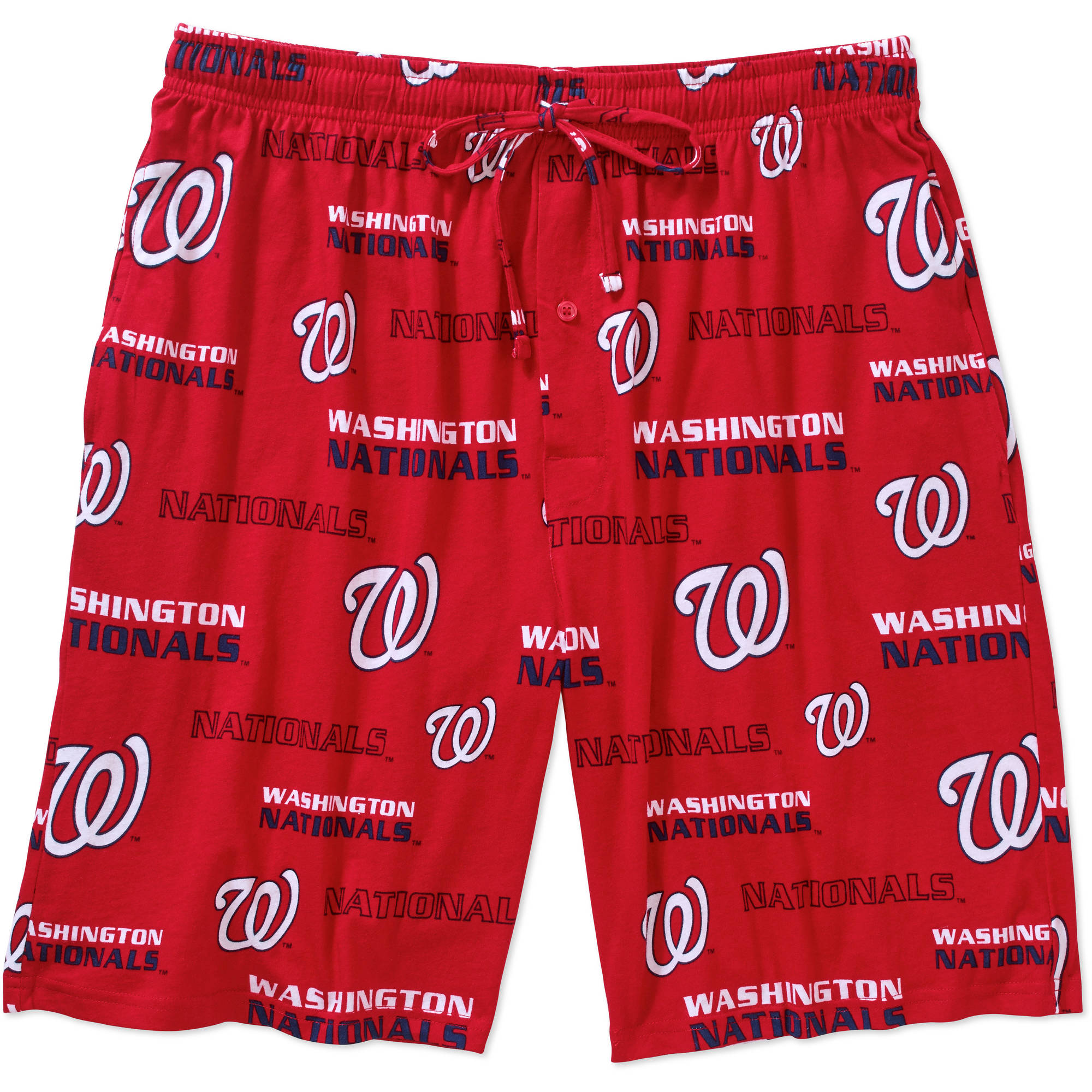 MLB Big Mens Washington Nationals Knit Jam Short, 2XL