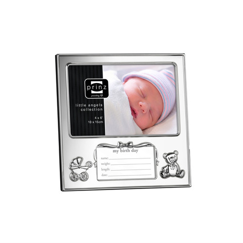 Prinz Just Arrived Silverplated Picture Frame
