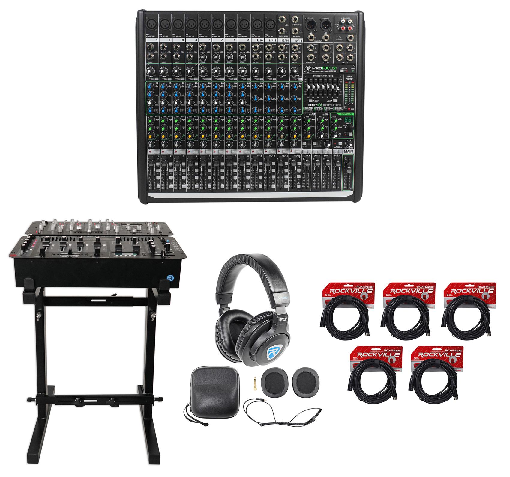Mackie PROFX16v2 Pro 16 Channel 4 Bus Mixer PROFX16 V2+He...