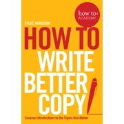 How To Write Better Copy - eBook