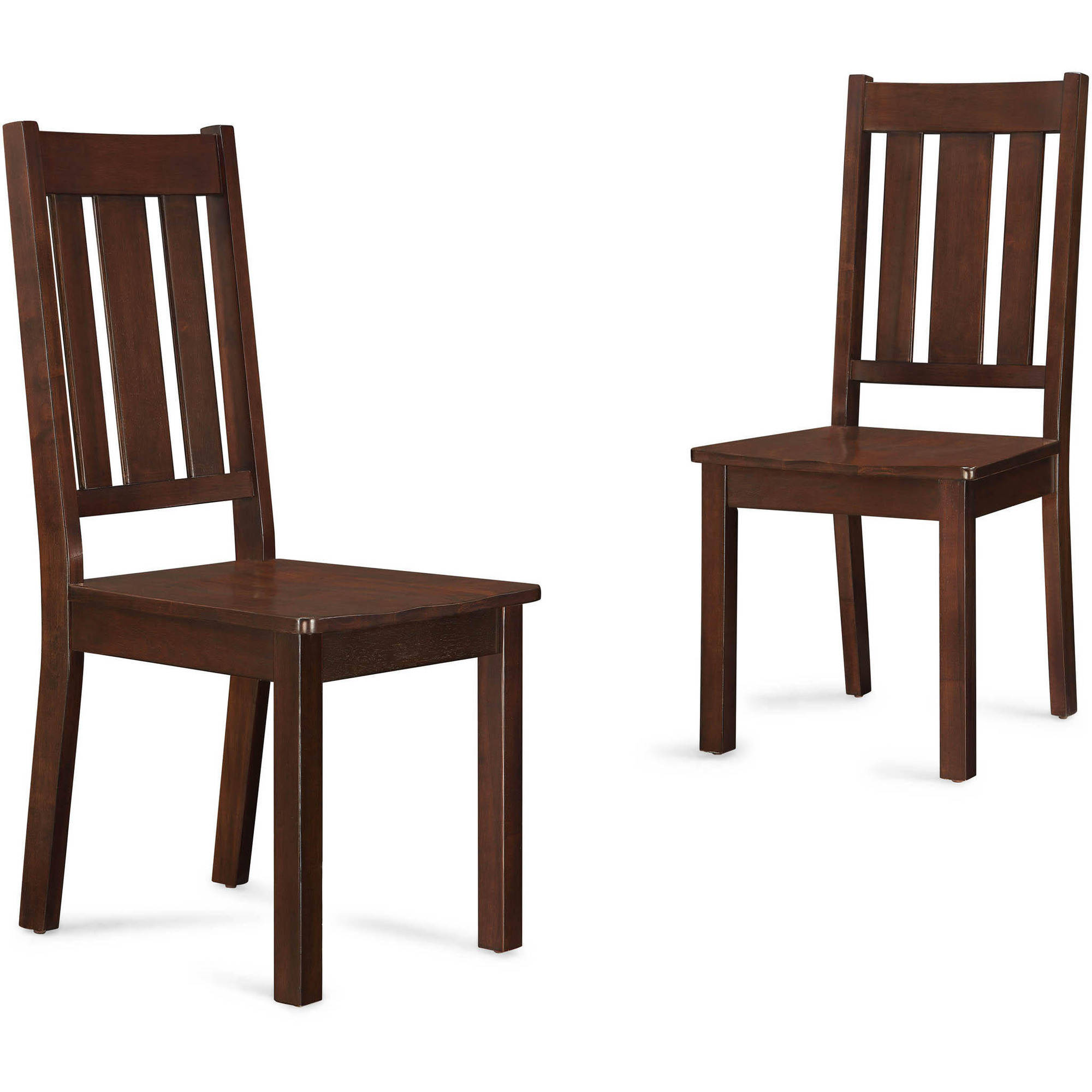 Dining Chairs better homes and gardens bankston dining chairs, set of 2, mocha