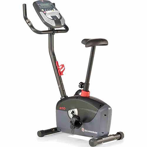 Schwinn A10 Upright Bike, 2013, Black