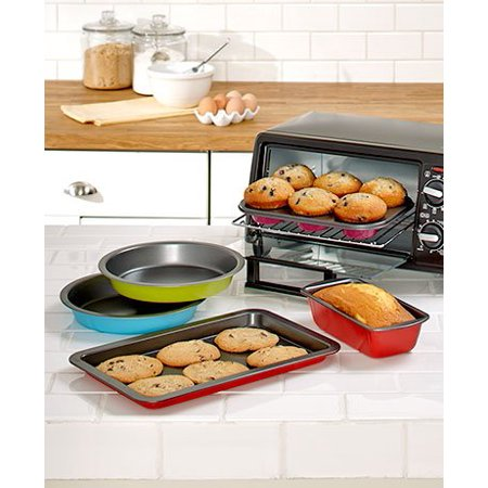 5-Pc. Toaster Oven Baking Set, Perfect for fries, wings, casseroles and more