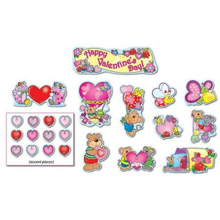Carson Dellosa CD-110060BN Valentines Day Mini Bulletin Board Set - Set of (Valentine's Day Bulletin Boards)