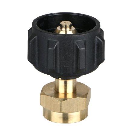 EEEKit Propane Refill Adapter, Lp Gas 1 Lb Cylinder Tank Coupler Throwaway Disposable Bottles Heater Capming