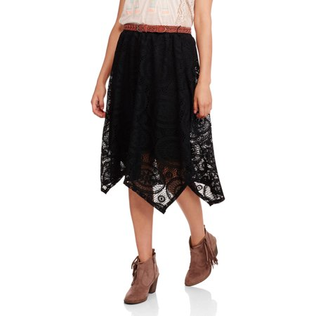 Faded Glory Women's Sharkbite Skirt