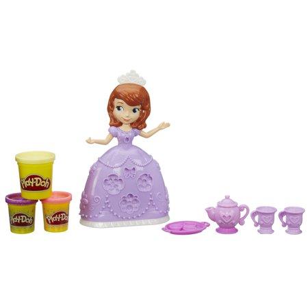 Play Doh Disney Sofia The First Tea Party Set Walmart Com