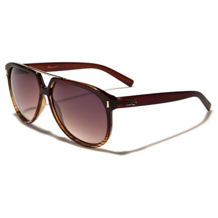 DG Oval Women Fashion Sunglasses (Brown - 50s Sunglasses