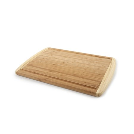 core bamboo peony large cutting board in two tone. Black Bedroom Furniture Sets. Home Design Ideas