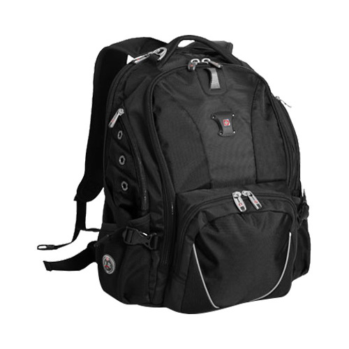 SWISSGEAR 1592 DELUXE LAPTOP BACKPACK - BLACK