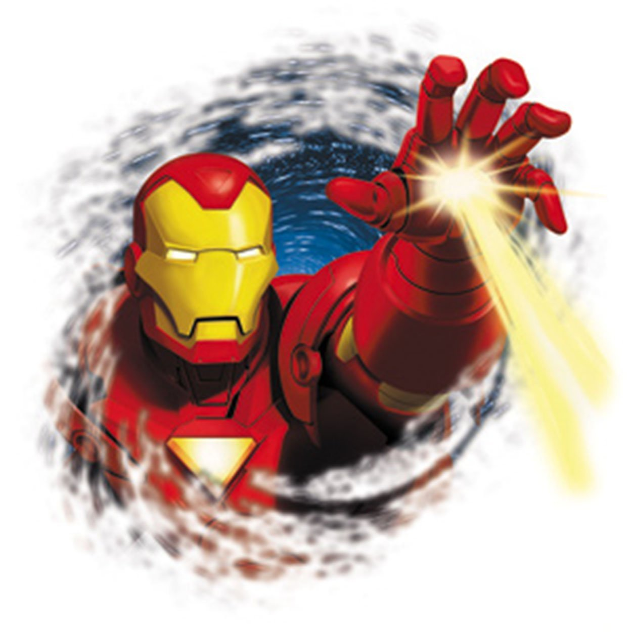 Officially Licensed, Invincible Iron Man Hand Sticker