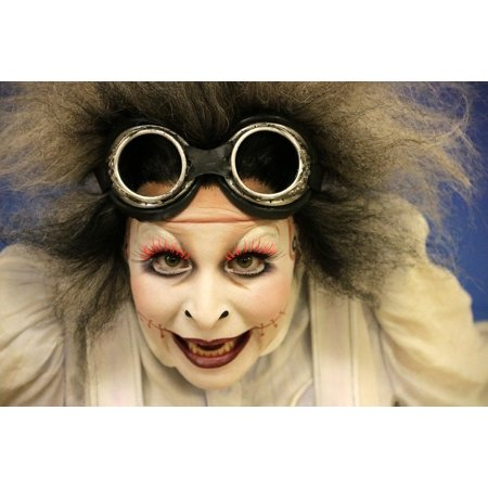 Canvas Print Face Clown Mime Stretched Canvas 10 x 14](Scary Mime Face)
