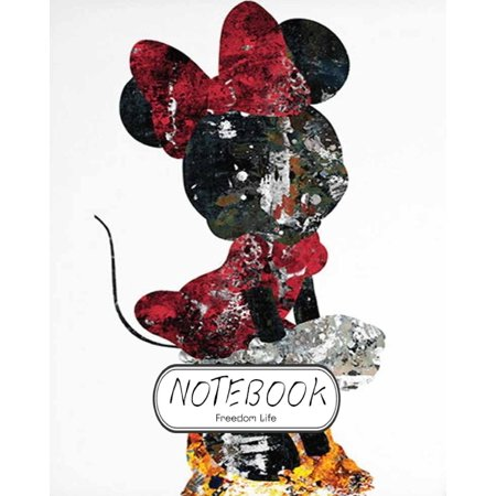 Notebook: Minnie Mouse V.1: Notebook Journal Diary, 120 Lined Pages, 8