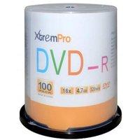 Blank CD DVD-R 16x 4.7GB 120 Minute DVD 100 Pack Storage Media in Spindle