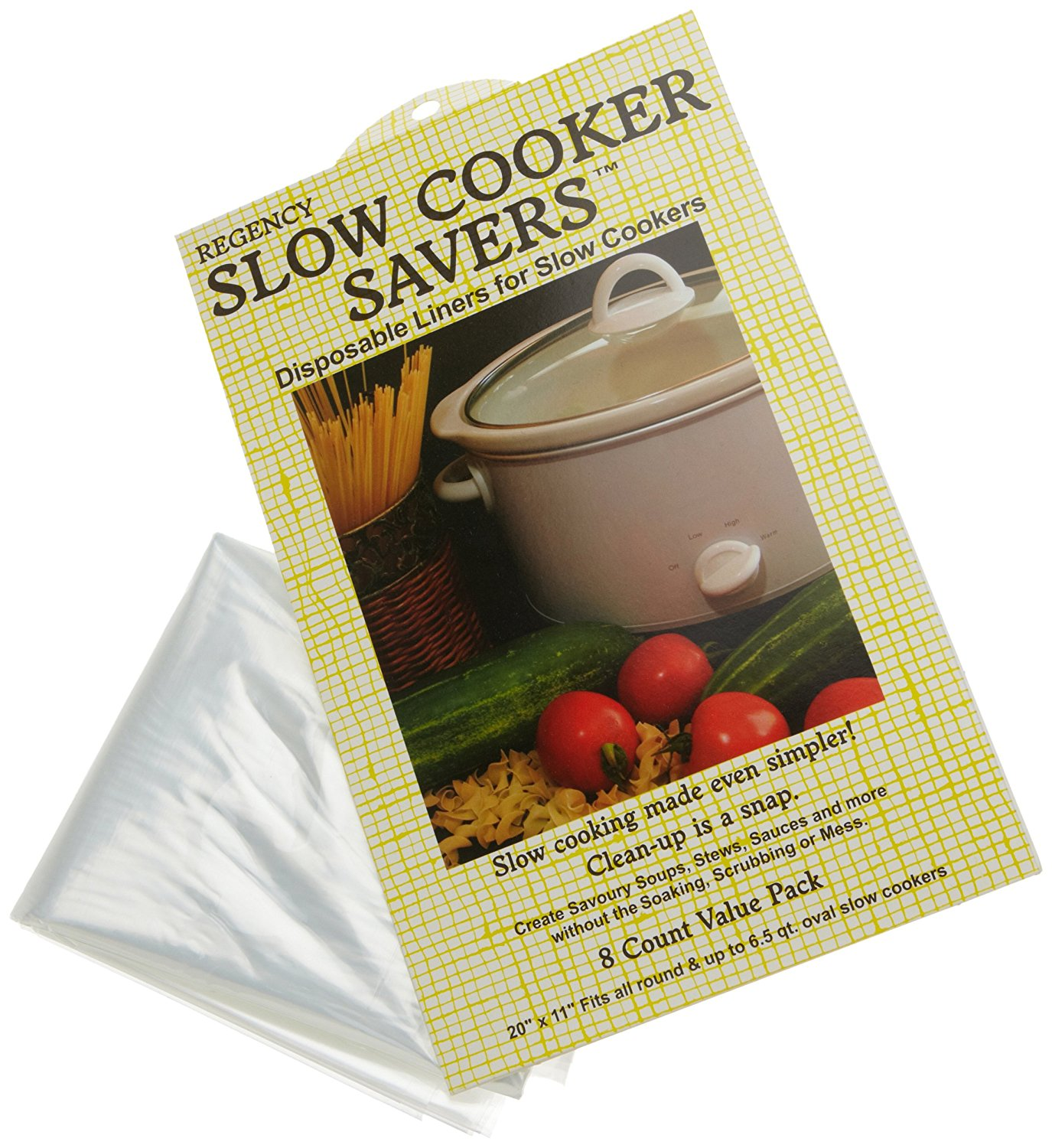 Regency Slow Cooker Savers..., By Regency Wraps Ship from US