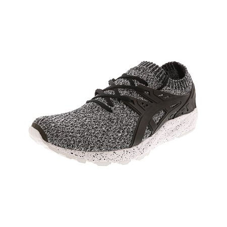 premium selection 515ca 9e0f7 Asics Men's Gel-Kayano Trainer Knit White / Black Ankle-High ...