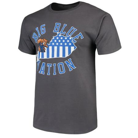 Men's Charcoal Kentucky Wildcats Blue Nation T-Shirt - Kentucky Wildcats Tee