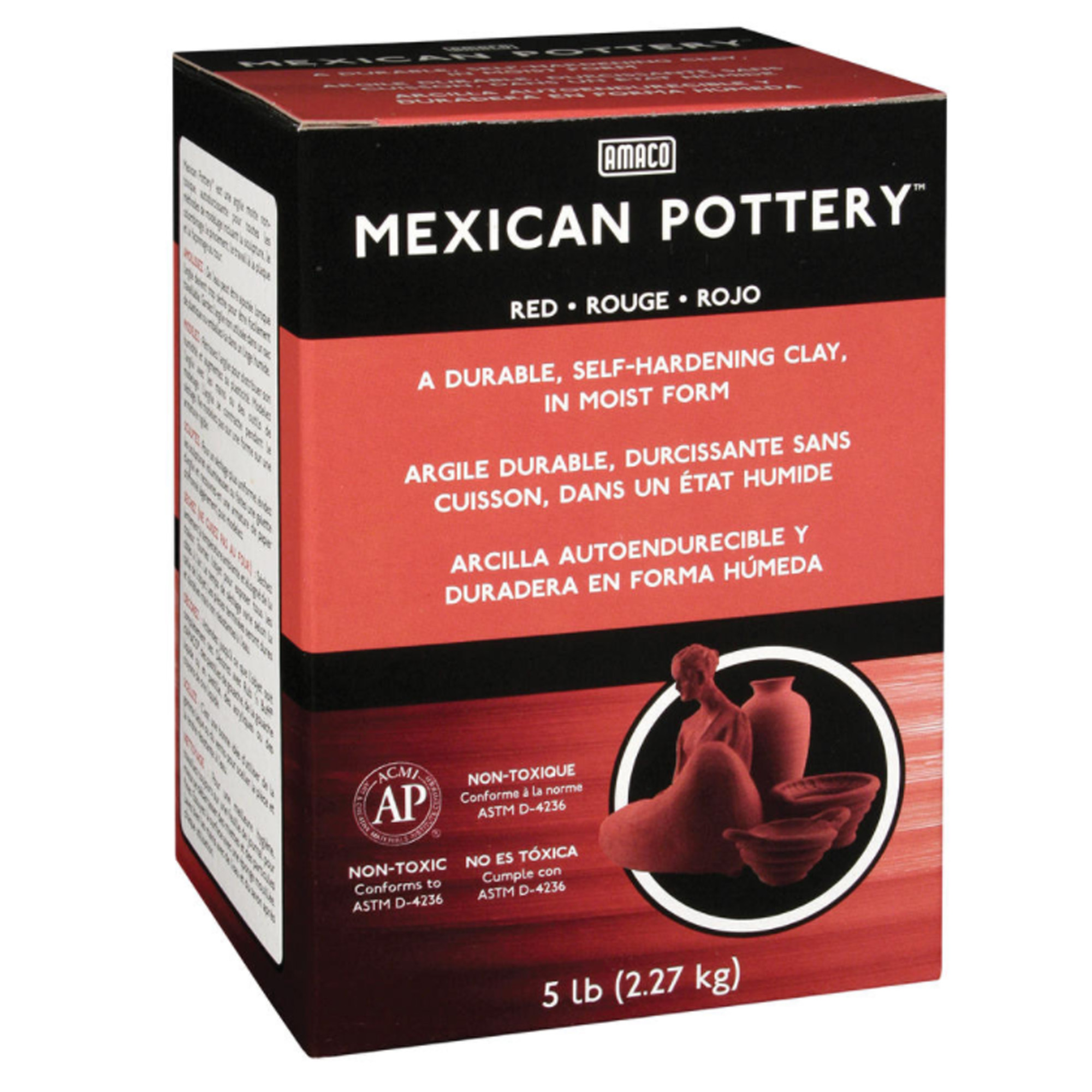 Mexican Pottery Self-Hardening Clay™, 5 lbs.
