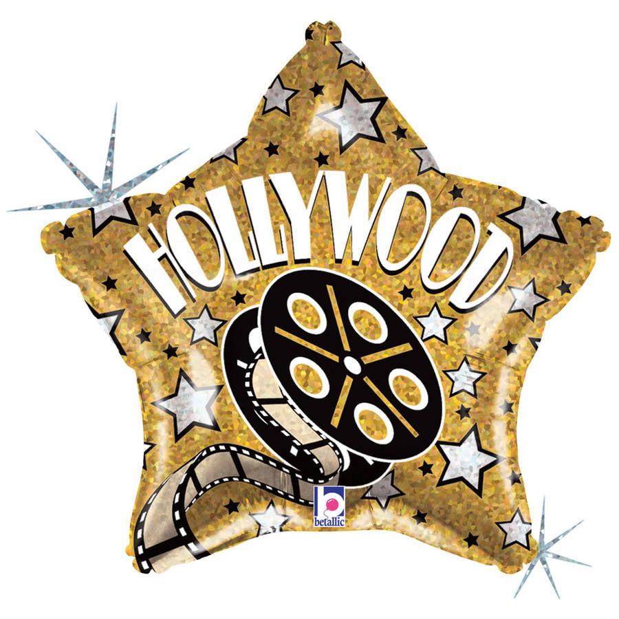 Hollywood Star Foil Balloon