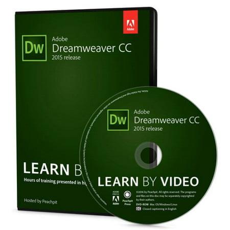 Adobe Dreamweaver Cc Learn By Video   2015 Release